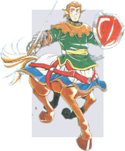 Eric, Knight of the Shining Force