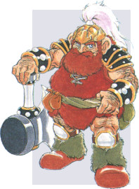 Gyan, Gladiator of the Shining Force