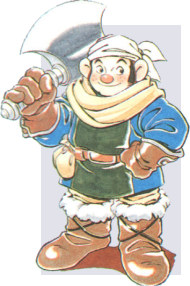 Jaha, Warrior of the Shining Force