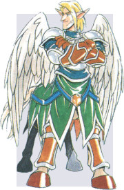 Jaro, Pegasus Knight of the Shining Force