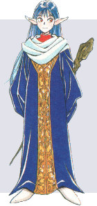 Sarah, Priest of the Shining Force